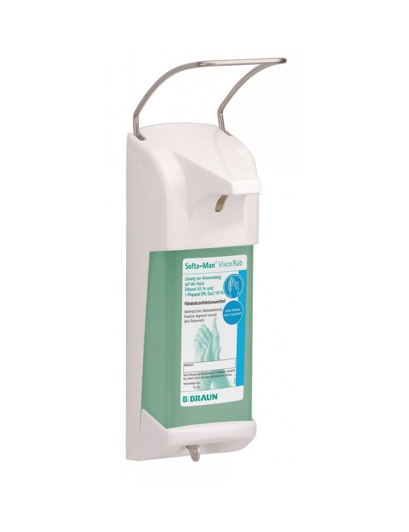 DISPENSER DE PERETE ER T PENTRU 1 L,permite ajustarea dozei