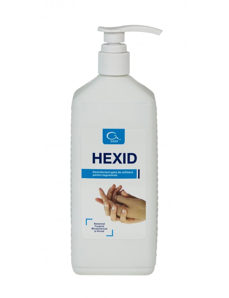 Dezinfectant si antiseptic maini si tegumente Hexid 1 L