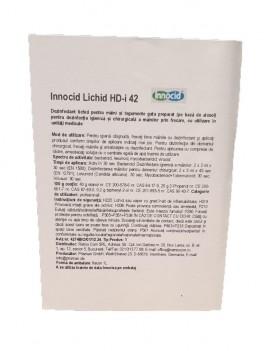 Dezinfectant lichid maini si tegumente, Innocid HD-i 42, 1L