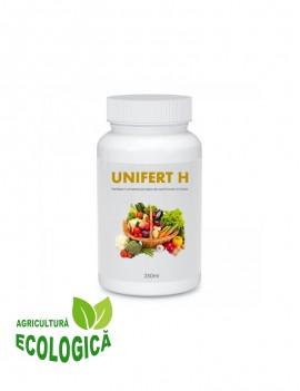 Fertilizant universal, Unifert H, pentru toate tipurile de culturi vegetale