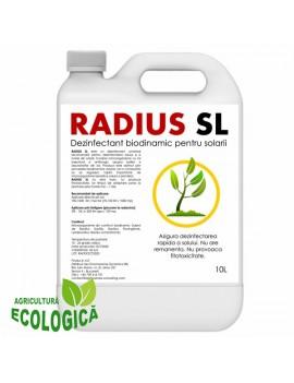 Dezinfectant biodinamic cu microorganisme pentru solarii si sere, Radius SL 10l