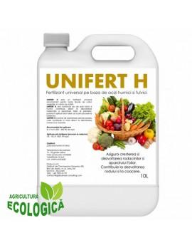 Fertilizant universal, Unifert H, pentru toate tipurile de culturi vegetale 10l