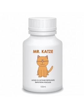 Repelent concentrat impotriva pisicilor, lichid, Mr. Katze, 100 ml