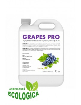 Ingrasamant lichid cu humat de potasiu pentru vita de vie, Grapes Pro 10l